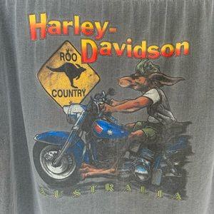 Harley-Davidson Shirts - VTG Harley Davidson Australia Shirt XXL
